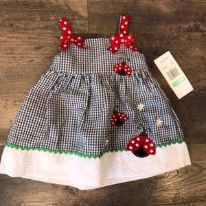 Rare Too Ladybug Dress